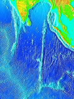 Chagos–Laccadive Ridge A volcanic ridge and oceanic plateau between the Northern and the Central Indian Ocean.