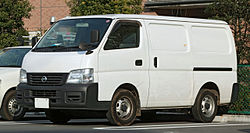 Early E25 Nissan Caravan