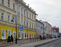 Nizhny Novgorod. Near crossing of Rozhdestvenskaya Street and Vakhitov Lane.jpg