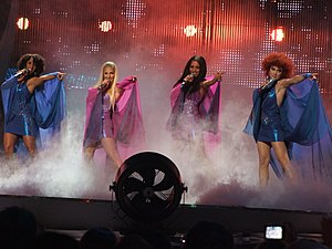 Germany in the Eurovision Song Contest - Image: No Angels ESC 2008