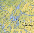 Nonacho Lake, Northwest Territories map 01.jpg