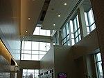 North and up in Utah Valley Convention Center atrium, Jan 16.jpg