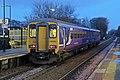 Northern Rail Class 156, 156483, Broad Green railway station (geograph 3795725).jpg