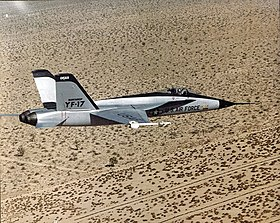 Northrop YF-17 Cobra - in flight.jpg