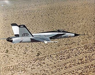 McDonnell Douglas F/A-18 Hornet - The Northrop YF-17 Cobra was developed into the carrier-capable F/A-18.