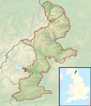 Northumberland National Park UK relief location map.png
