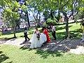 Novia en jardines del Poliforum Mier y Pesado en Orizaba.jpg