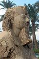 Nuovo regno, xix dinastia, sfinge di menfi, 1341-1200 ac ca. 03.JPG