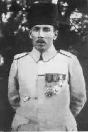 Nuri Killigil - Image: Nuri pasha Killigil Honored