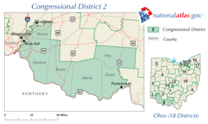United States House of Representatives elections in Ohio, 2008 - Image: OH02 109