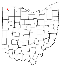 Location of West Unity, Ohio
