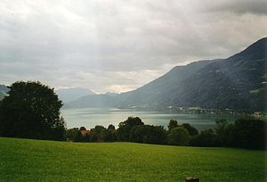 Lake Ossiach - Image: OSSIACHER SEE2.JL