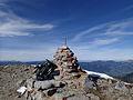 OW Widderfeldstock Gipfelkreuz 2351 m.JPG