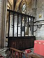 Oak screen, St Ethelreda's Chapel, Hexham Abbey - geograph.org.uk - 748370.jpg