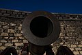 Obús de bronce en el Castillo de San Gabriel 06.jpg
