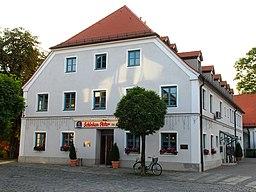 Kirchplatz in Oberhaching