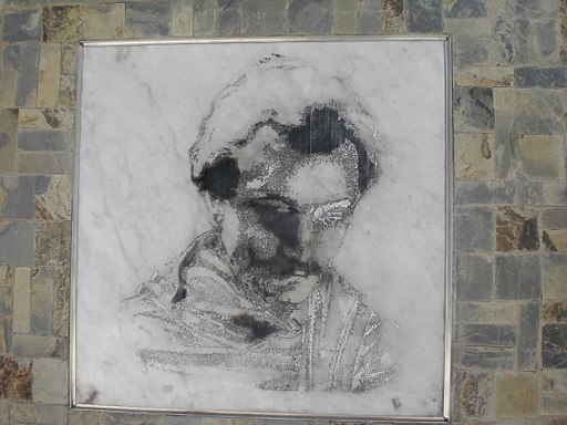 Obra de Arte Retrato de Gibrán Khalil Gibrán