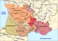 Occitània - Division territòriala vèrs 1030.png