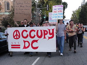 Occupy D.C. - Image: Occupy DC Oct 9, 2011 march