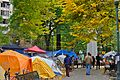 Occupy Portland tents, October 21.jpg