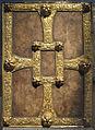 Oggetto devozionale a forma di libro, arte longobarda, IX sec o successivi.JPG