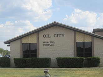Oil City, Louisiana - Oil City Municipal Complex