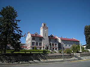 Okanogan County, Washington - Image: Okanogan County Courthouse 01