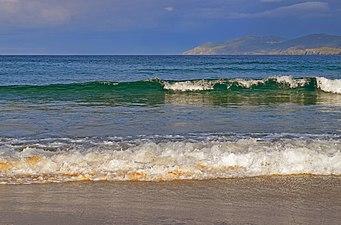 Olas de la playa de Frouxeira.jpg