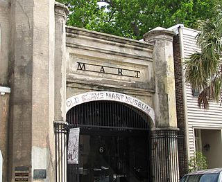 Old Slave Mart United States historic place