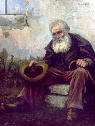 Louis Dewis - Image: Old Beggar 1