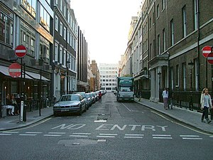 Old Burlington Street - Old Burlington Street looking north.