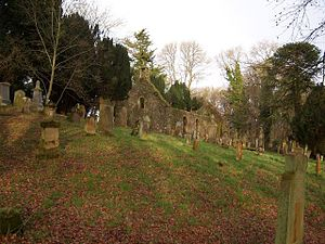 Inch, Dumfries and Galloway - Image: Old Inch Church Stair Estates Castle Kennedy geograph.org.uk 852656