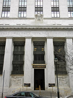 Old Federal Reserve Bank Building (Philadelphia) - Image: Old Philly Fed