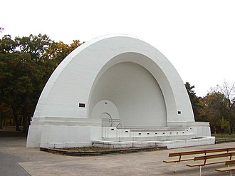 Fort Dodge, Iowa - Image: Oleson Park Music Pavilion