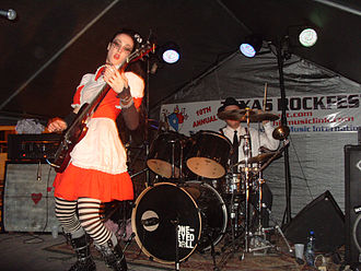 One-Eyed Doll - One-Eyed Doll in March 2009