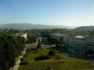 Onești - View from Trotuș Hotel