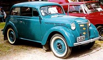 Opel Kadett - Image: Opel Kadett 1938