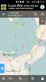 OpenSeaMap auf Locus - Ansteuerung 3km.png