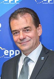 Ludovic Orban Former Prime Minister of Romania