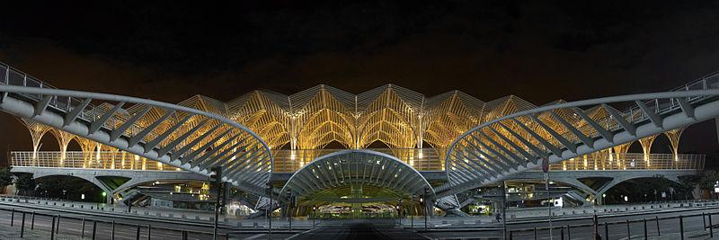 Gare do oriente wikipedia for Architecture lisbonne