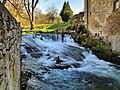 Orsans, le barrage de l'ancien moulin sur l'Audeux.jpg