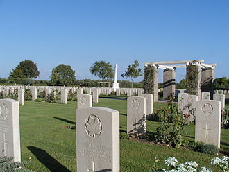 Winter Line - Moro River Canadian Cemetery near Ortona.