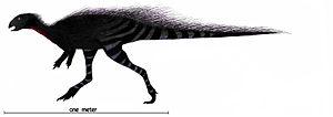Othnielosaurus - Life restoration of Othnielosaurus