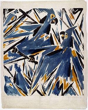 Otto Lange - Image: Otto Lange Papageien
