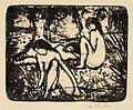 Otto Mueller Zwei sitzende Mädchen vor liegender Figur.jpg