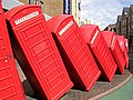 Out of Order phone box sculpture - geograph.org.uk - 587428.jpg