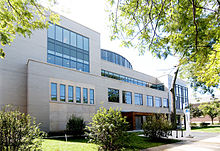 The Chicago Theological Seminary at its new location in Hyde Park