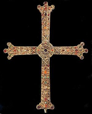 Astur-Leonese dynasty - The Victory Cross, a symbol of the Astur-Leonese dynasty