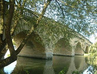 Eynsham - Swinford Bridge over the Thames