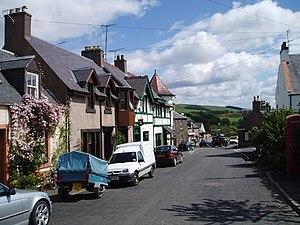 Oxton, Scottish Borders - Image: Oxton